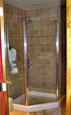 Bathroom Corner Shower Ideas basement living | doable baths | pinterest | basements, bath and