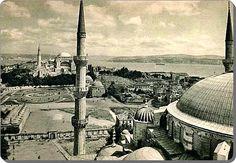 Sultanahmet Camii'nden Ayasofya'ya bakış - 1934
