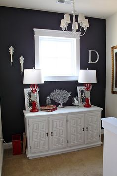 I want a dresser just like this to use as a TV stand  and another similar for my Bedroom.  Could find a Buffet on Kijiji and make it over for 2 purposes. lol