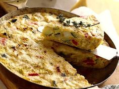 Vitamin-B12, one of the most important vitamins that our body needs. ****Mushroom, Tomato & Basil Frittata