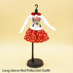 New+Red+Minnie+outfits+  1)+Minnie+red+polka+dot+dress  2)+Minnie+long+sleeve+polka+dot+dress  3)+Minnie+polka+dot+lace+frills+outfit  Each+outfit+sold+separately. + Fits:+Pullip,+Dal,+Blythe,+other+1:6+scale+dolls  Photos+are+licensed+under+a+Creative+Commons+Attribution-NonCommercia...