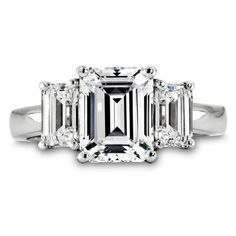 Emerald Cut Engagement Ring yup I'm getting it! Love you JCH!