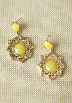 Lemon Burst Earrings | Modern Vintage New Arrivals