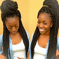 53 Box Braids Hairstyles That Rock - Hairstyles Trends Box Braids Hairstyles, Flat Twist Hairstyles, Senegalese Twist Hairstyles, Braids Hairstyles Pictures, Kids Braided Hairstyles, My Hairstyle, Hair Pictures, Hairstyle Ideas, Black Hairstyles