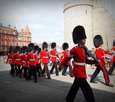 My footprints ::082014:: #Windsor#London#marching band#castle#summer#My footprint