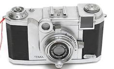 Vintage  Zeiss Ikon Tenax II 582/27 Camera with clean 2.8/4cm Tessar