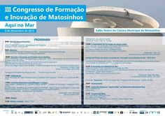 III Congresso Formação e Inovação Matosinhos - Vasco Marques Digital Marketing, Social Networks, Colleges, Events