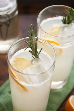 The Meyer Lemon Rosemary Gin Fizz is a contemporary spin on the classic cocktail - subtly herbal, brightly citrusy, and perfectly refreshing.
