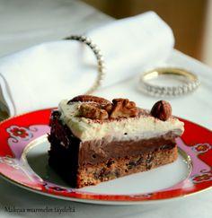 Makeaa murmelin täydeltä: Suklaatryffelikakku