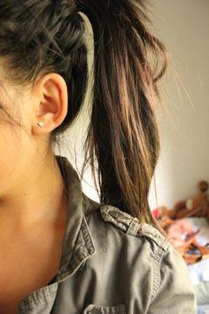 love high ponytails. @sondallea