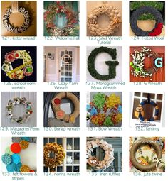 310 wreath tutorials - oh how I love wreaths!