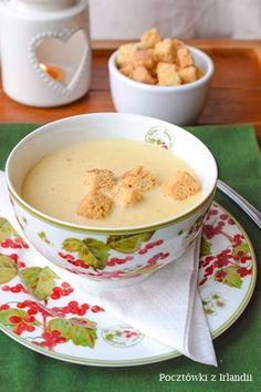 Czosnkowa zupa krem zszafranem Aioli, Fondue, Risotto, Cheese, Ethnic Recipes, Cleopatra