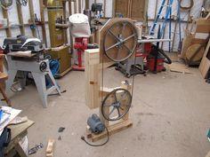 Warren Brownell's Gilliom / woodgears bandsaw
