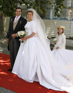 Prince Charles Philippe, Duke of Anjou and Diana Álvares Pereira de Melo, 11th Duchess of Cadaval 21 June 2008