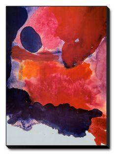 Blue Atmosphere by Helen Frankenthaler