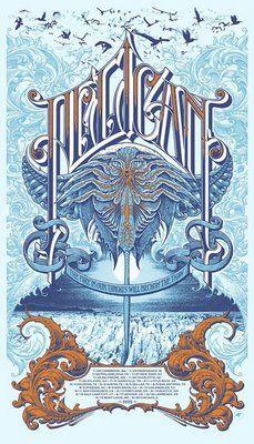 Pelican concert poster