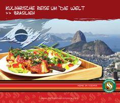 Wir feiern die Fußball-WM mit einer Mini-Variante der brasilianischen Churrasco-Spieße. Ein zarter Hühnerspieß mit Chimichurri, einer würzigen Kräutermarinade die in Lateinamerika zu Fleischgerichten serviert wird. Den typischen Halbzeitsnack in brasilianischen Stadien servieren wir mit knackigem Salat und herzhafter Guacamole. Bom apetite! Jetzt in allen teilnehmenden Coffeeshops.