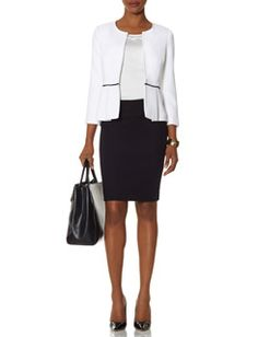 2-Tone Skirts, Sweaters | Ladies Two Tone Tops and Cardigans | THE LIMITED