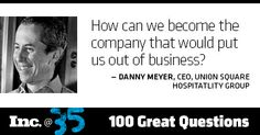 Day 1: Danny Meyer, Union Square Hospitality Group