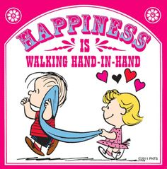 Hapiness is... #Peanuts #Happiness #Linus