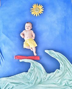 Baby Surfer