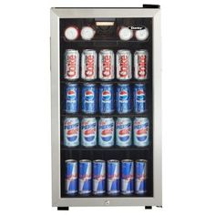 Danby, 18 in. 120 (12 oz.) Can Cooler, DBC120BLS at The Home Depot - Tablet