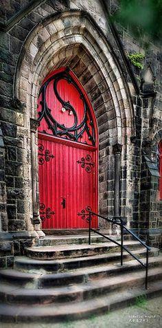 HomeBliss ... - Gothic door via Jiva Carter