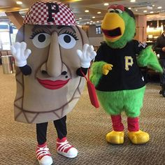 The @pirates introduced a new pierogi for the upcoming season: Pizza Penny! #pierogies #pirates #mlb #baseball #pittsburgh #pgh #wpxi : @wpxijack