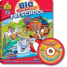 Big Pencil-Pal Preschool Software & Workbook