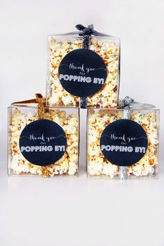 popcorn favor | printable favor | movie night | party popcorn | sprinkled popcorn recipe