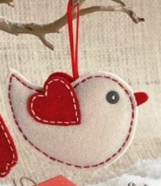 Amazon.com: TAG Felt Ornament, Bird: Home & Kitchen