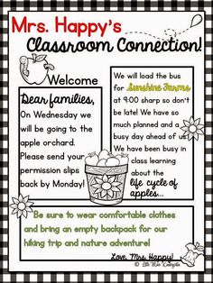 take a bite out of teacher prep little miss kindergarten lessons from the little red schoolhouse preschool newsletter templatesweekly