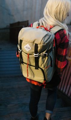 Two Bit Klettersack | Made in Ogden, Utah. Each bag signed by the artisan that made it.