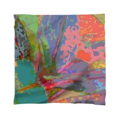 img  Abstract Leaf Pattern Scarf By mae-glenn $48.00  This colorful pattern is an abstract design made from an original closeup photograph of leaves on an impatiens plant.