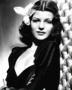 by Lori Novo | Hair - Vintage |  Rita Hayworth
