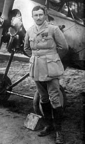 "Lafayette Escadrille: Americans in the French Air Service  Captaine Georges Thenault of the French Air Service, the commanding officer of Squadron N-124, the first American volunteer squadron which would become the ""Lafayette Escadrille."