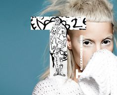 Alexander Wang teams up with Die Antwoord for his newest campaign - T by Alexander Wang Spring 2012  Love Yo-Landi <3