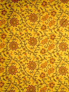 Traditional Indian Block Print