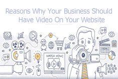 Reasons Why Your Business Should Have Video On Your Website  #websitedevelopmentinbangalore #webdesign #searchengine #digitalmarketing  #mobileappdevelopment #contentmanagementdevelopement #Ecommerce #WordpressDevelopment #AndroidIonicFramework