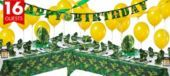 Camouflage Party Supplies Deluxe Party Kit- Boys Party Themes- Boys Birthday- Birthday Party Supplies - Party City Canada