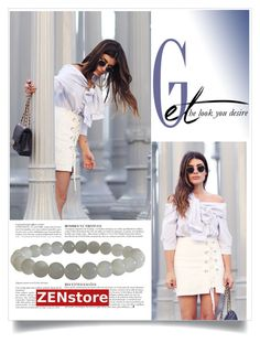 """""""Get the Look"""" by zenstore ❤ liked on Polyvore featuring Anja"""