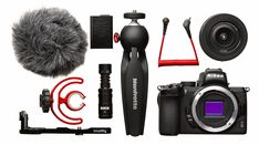 Kit vlog Nikon Z 50 : la combinaison gagnante ? Nikon D500, Bluetooth, Appareil Photo Reflex, Accessoires Photo, Carte Sd, Usb, Headset, Headphones, Photos