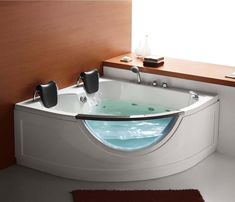 details zu luxus whirlpool badewanne whirlwanne madrid 140x140 cm paris 152x152 cm wei. Black Bedroom Furniture Sets. Home Design Ideas
