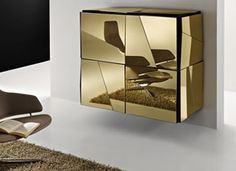 Psiche Sideboard with Exquisite Style with gold color