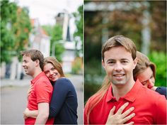 Engagement session in Wassenaar | Agnes & Michel