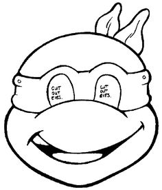 Teenage Mutant Ninja Turtles Coloring Pages For Kids
