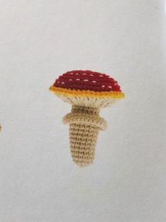 Rico Ricorumi Funny Fall - Toadstool Crochet Hooks, Knit Crochet, Knitting Patterns, Crochet Patterns, Fall Patterns, Sewing Needles, Rico Design, Needles Sizes, Autumn Theme