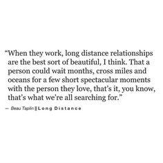 Long distance - Beau Taplin