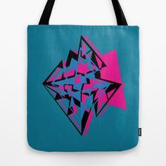Diamonds Tote Bag by Boech - $22.00