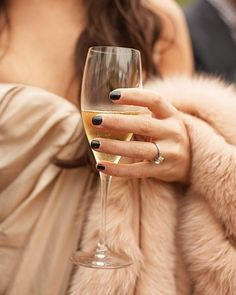 Champagne & fur